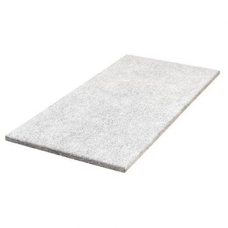 Fibrotech multifin træbetonplade 25x600x1200 mm hvid