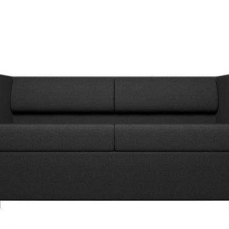 Kulik System - Lounge Line - Akustiksofa - Black Graphite -