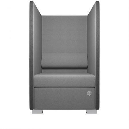 Kulik System - Private Line - Akustiksofa - Silver -
