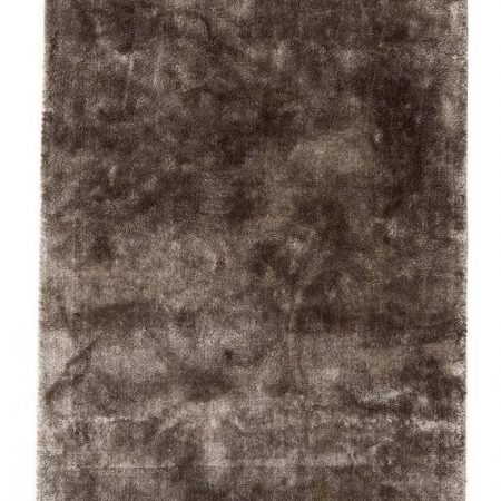 Noble gulvtæppe med frynser - 160x240 cm - varm grå fra Nordal