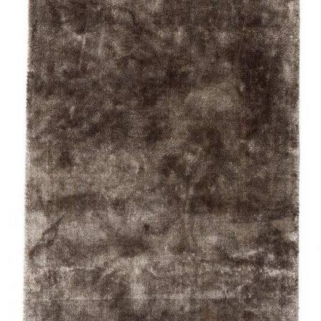 Noble gulvtæppe med frynser - 200x290 cm - varm grå fra Nordal