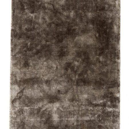 Nordal NOBLE tæppe med frynser i varm grå