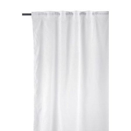 Plain Gardiner Hvid 2-pak 300x150 cm
