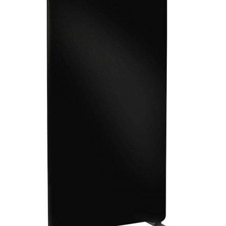 Skærmvæg til gulv Lintex Edge sort 1000x1500mm
