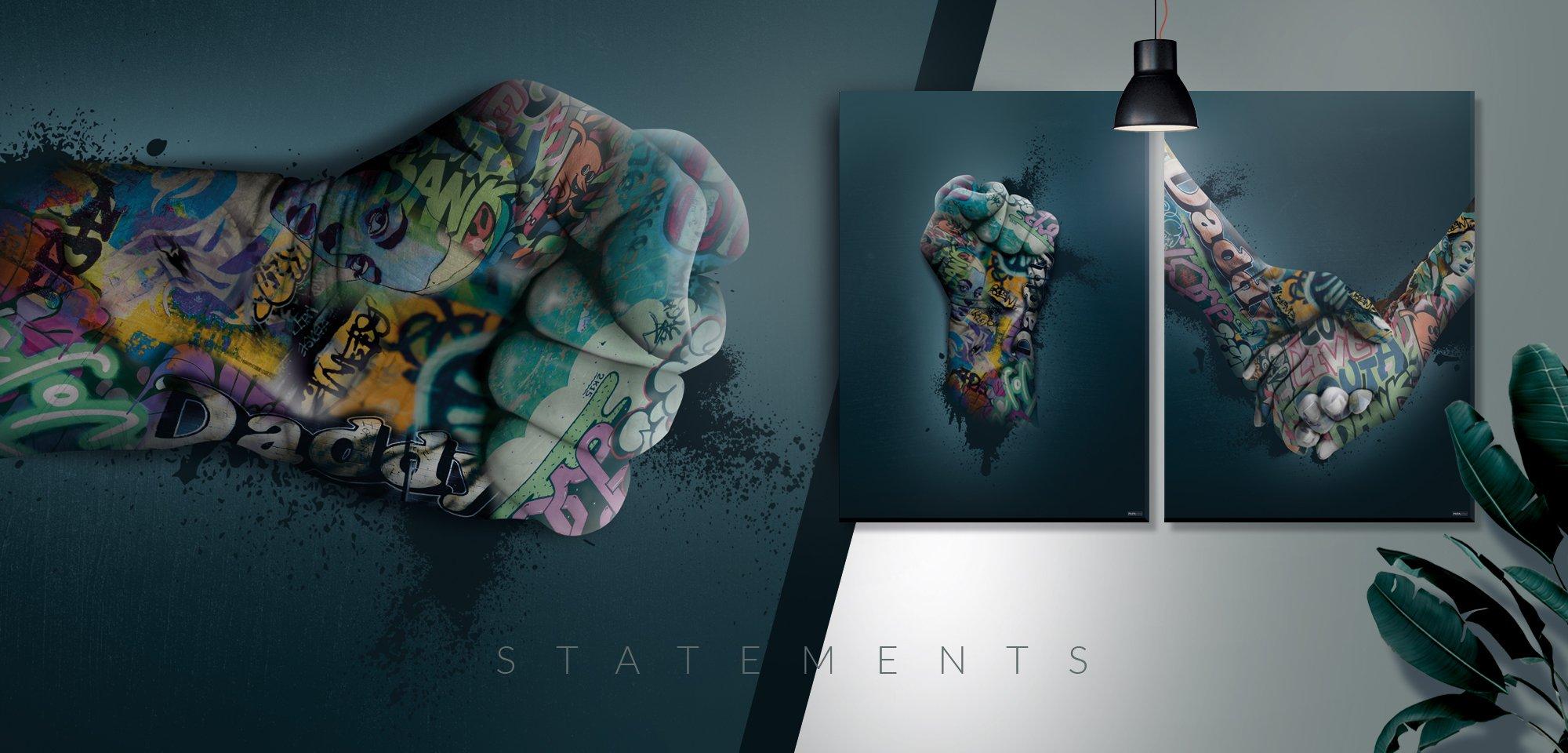 PAPAPAPA designer og producerer grafiske plakater.